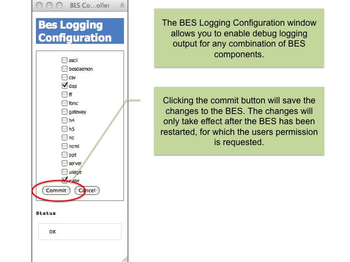 BES Logging Configuration 1