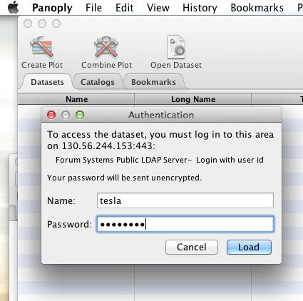 DAP Clients - Authentication - OPeNDAP Documentation